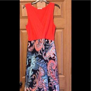 NWOT Large Gilli Long Maxi Dress
